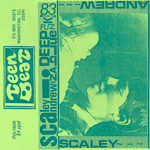 Scaley Andrew In a Deep Blue Funk cassette album green