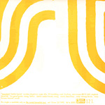 STEREOLAB, UNREST 1993 Tour Souvenir 7-inch single back