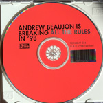ANDREW BEAUJON A Raw-Boned June CD label