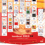 Teen Beat Greeting Card Catalogue 2003 2004