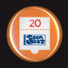 Teen-Beat 20th Anniversary Commemorative Pin 1