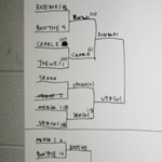 Merge XX festival basketball tournament bracket