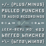 +/- Plus Minus Pulled Punches CD preliminary design