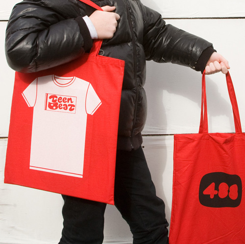 Teen-Beat tote bag