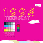 1996 Teen-Beat Sampler CD album