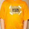 Teen-Beat t-shirt with metallic gold ink